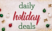 Daily Holiday Deals