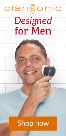Clarisonic Mia Men Sonic Facial Cleansing Brush.